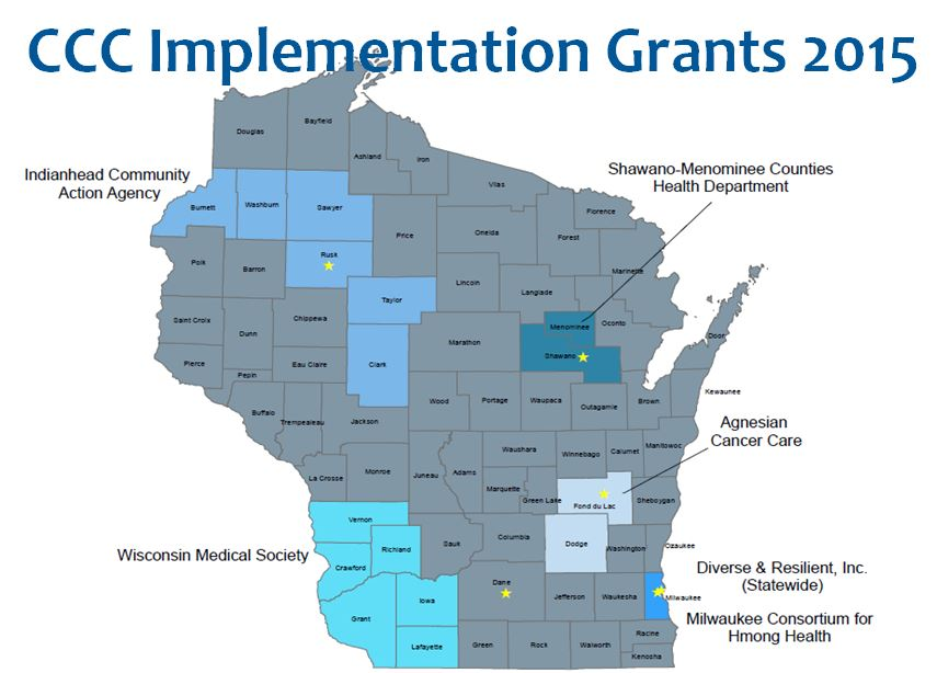 CCC Implementation Grantees 2015
