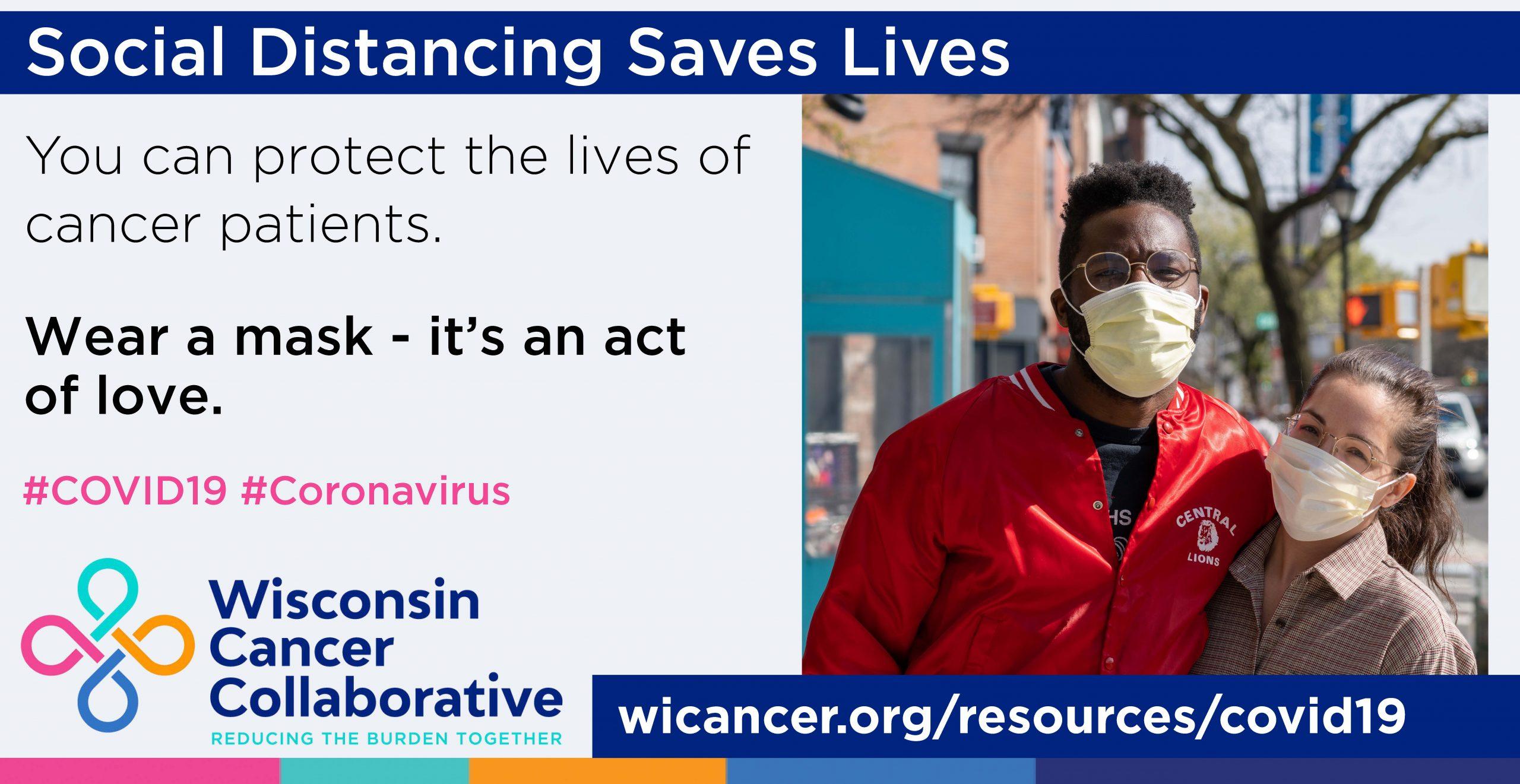 Socia Distancing Saves Lives