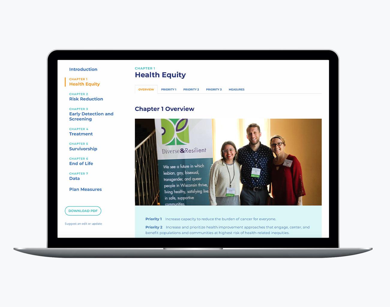 Wisconsin Cancer Plan Interactive
