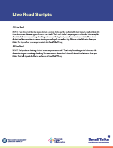 SmallTalks-LiveReadScripts